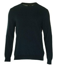 Club Room Men's Classic-Fit Crew-Neck Jersey Sweater, Navy Stone, Sz. Large - £37.79 GBP