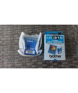 4#i   LC31C Genuine New Brother LC31C, Cyan Ink Cartridge Sealed & in Re... - $5.44