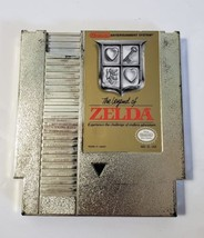 Legend of Zelda - Nintendo NES Original Gold Video Game Cartridge - $29.65
