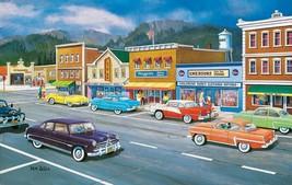 SUNSOUT INC Main Street Memories 550 pc Jigsaw Puzzle by Artist: Ken Zylla - $23.33