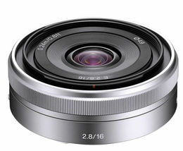 Sony SEL 16F28 16mm F2.8 Lens for Sony E-mount (White Box) SEL16F28 image 3