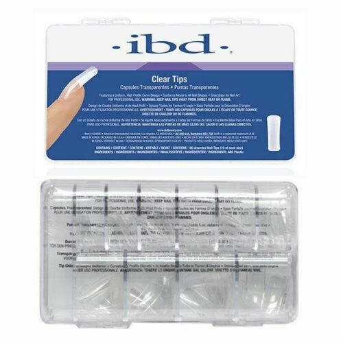 IBD Clear Nail Tips, 100 Count
