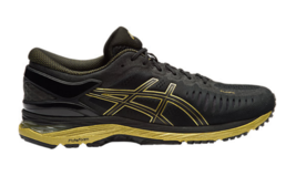ASICS 2017 Men's MetaRun Long Running Shoes BLACK/ONYX/GOLD Color Authe... - $295.00