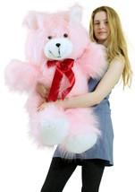 American Made Giant Pink Teddy Bear 36 Inch Soft 3 Foot Teddybear Brand New - $97.11