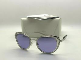 Michael Kors Mk1029 (Charlston) 11371a Silber/Klar Sonnenbrille 52-20-140MM - $73.00