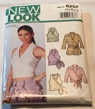 Simplicity New Look 6252 Misses' Tops Size 6-16 - $9.31