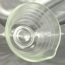 Pyrex Westinghouse Beehive Bowl 1.5qt Vintage Clear Glass Mixer w/ Pour Spout image 5