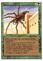 Magic: The Gathering 3rd Edition - Giant Spider - $0.25