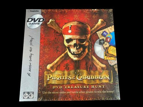 Disney Pirates Of The Caribbean DVD Game Treasure Hunt 2006 Sealed - $27.58