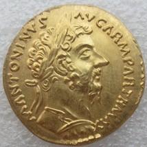 dower me Marcus Aurelius Aureus Rome 168 AD Gold Plated - $13.95
