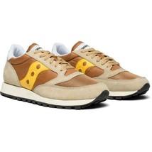 Saucony Jazz Original Men's Shoe Tan/Yellow, Size 13 M - £41.44 GBP