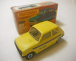 Vintage 1978 Matchbox Lesney Renault 5TL  MPN 21    - $27.82