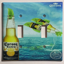Corona Extra Bottle Beer Logo Light Switch Power Outlet Wall Cover Plate Decor image 3