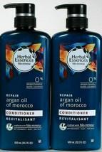 2 Bottles Herbal Essences 20.2 Oz Bio Renew Repair Argan Oil Conditioner - $28.99