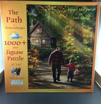 SunsOut The Path Puzzle 1000+ Easy Grasp Pieces Dona Gelsinger 27 x 35 Grandpa - $14.00