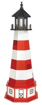 ASSATEAGUE LIGHTHOUSE - Virginia Island Working Replica in 6 Sizes AMISH... - $194.01+