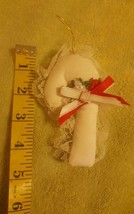 Vtg 1996 Ornament Christmas xmas Candy Cane w/Bow • Pre-owned • Nice Con... - $12.73