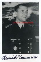 Heinrich Dammeier signed photo. U-270 - $37.00