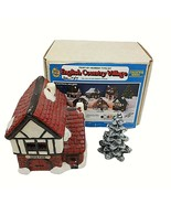 Wee Crafts Village Smithy English Country Painted Finished Lighted - $49.49