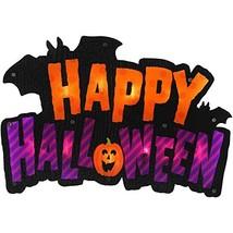 Happy Halloween Lighted Shimmer Ornament Halloween Decoration - $34.35