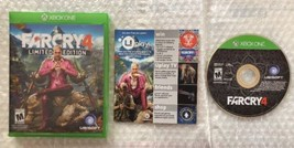 ☆Far Cry 4 Limited Edition (Microsoft Xbox One 2014) Complete in Case Ga... - $14.99
