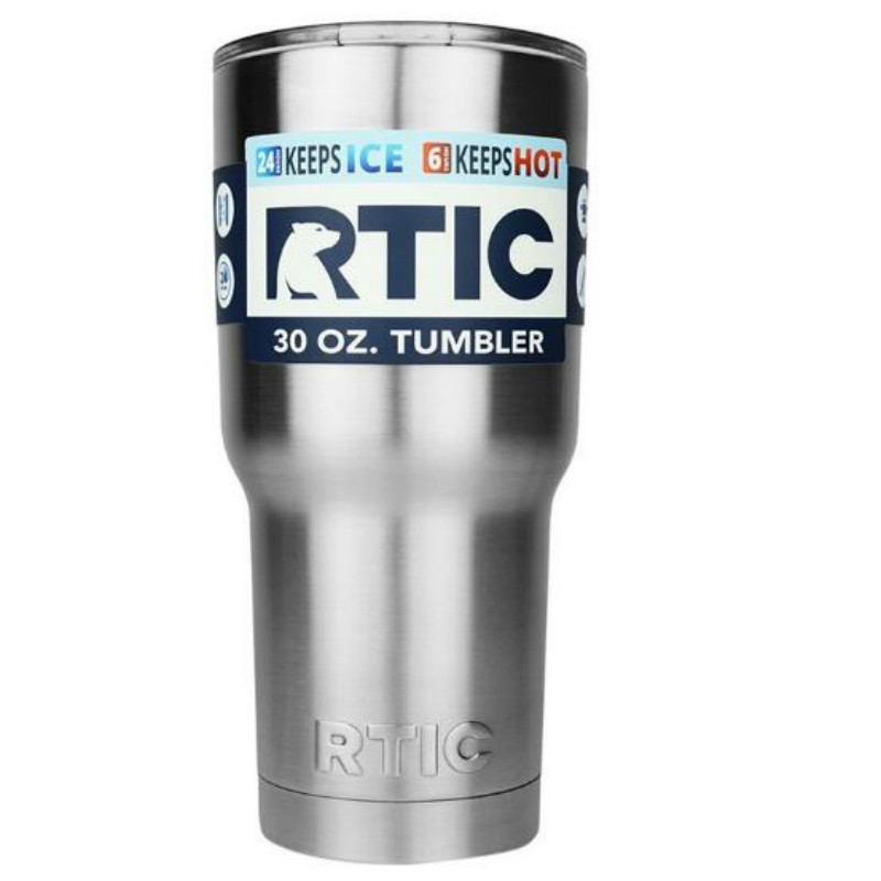 30 oz RTIC Tumbler Cups Stainless Steel 30 oz RTIC Rambler