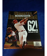 Sports Illustrated Extra Edition Mark McGuire 62! HR cover, September 8,... - $5.65