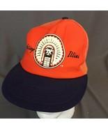VTG  Illinois Fighting Illini Snapback Mesh Hat Trucker Cap Chief Illini... - $37.68