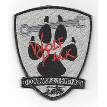 US Army D Company 1-501st ARB Aviation Patch - WOLK PACK - $11.87