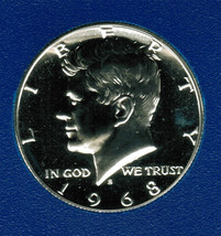 1968 S Uncirculated Kennedy Half Dollar CP2006 - $7.50