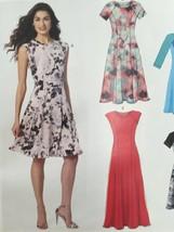 McCalls Sewing Pattern 7349 Ladies/Misses Petite Dresses Size 14-22 New - $17.79