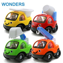 Super Cute Mini Cartoon Cars Engineering vehicles Random Color warrior c... - $9.99