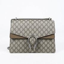 Gucci Medium Dionysus GG Supreme Monogram Shoulder Bag - $2,505.00