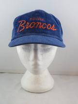 Denver Broncos Hat (VTG) - Corduroy Script Sports Specialties - Adutl Sn... - $55.00