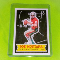Nfl Joe Montana San Francisco 49ERS 1984 Nfl Stars Collector's Edition 13 Of 30 - $1.35
