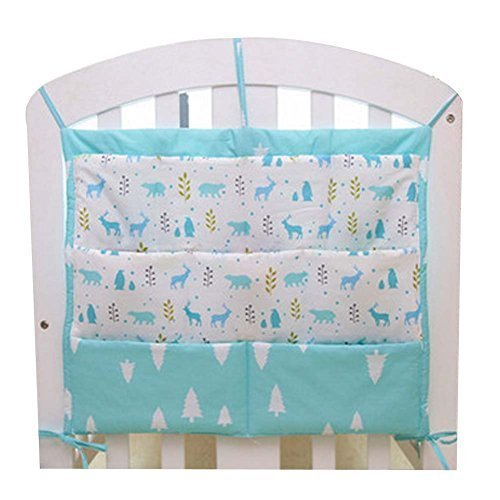 Primary image for Lovely Animal Infant Bedside Multilayer Pouch Storage Bag Diaper Bag