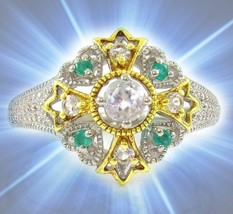 HAUNTED RING GLORIOUS ROYAL DESCENDANT PORTAL EXTREME MAGICK MYSTICAL TR... - $188.89