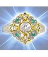 HAUNTED RING GLORIOUS ROYAL DESCENDANT PORTAL EXTREME MAGICK MYSTICAL TREASURES - $377.77