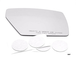 Fits 04-10 Nis Quest Right Passenger Convex Mirror Glass Lens w/Adhesive... - $19.75