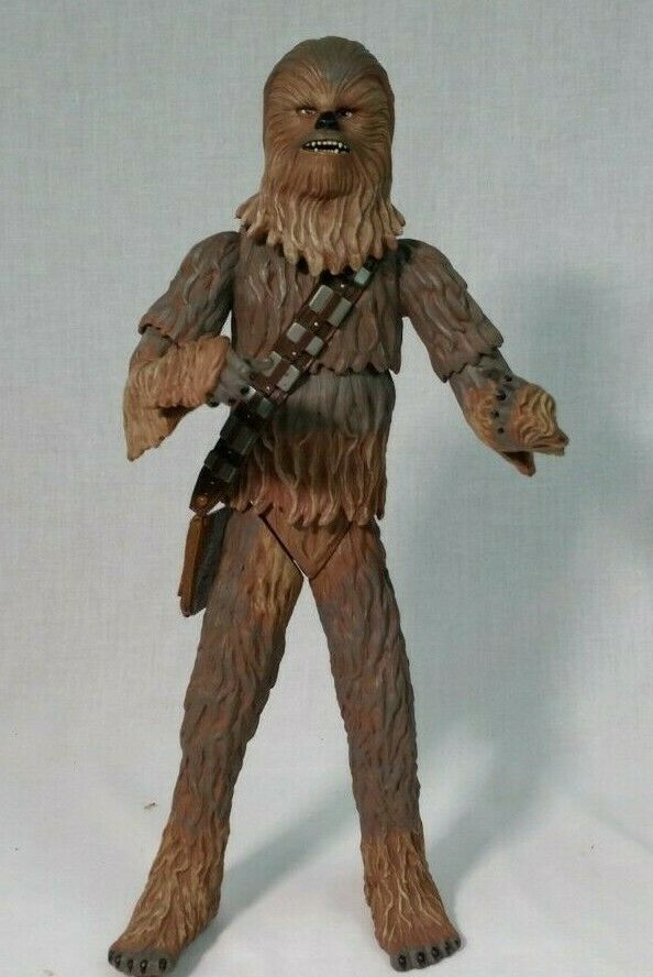 STAR WARS Chewbacca Action Figure, 14 Inch Tall - 2004 LFL Hasbro