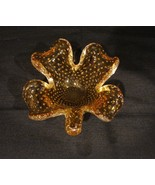 Murano Italy Hand Blown Glass Four Leafed Clover Bullicante Controlled B... - $30.00
