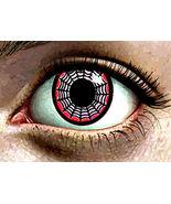 Abstract spider web monster womans Eye original art print horror sci fi ... - $6.99