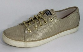 Sperry top sider Seacoast women's gold metallic sneakers size 5M - $45.08 CAD