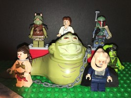 Empire Strikes Back - Jabba the Hutt and Slaves set of 7 LEGO minifigure... - $21.95