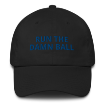 Run the Damn Ball hat / run the Damn Ball / Cotton Cap image 2