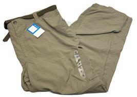 Columbia NWT Mens Large Cargo Hiking Convertible Pants Zip Off Shorts 56x32 - $26.18