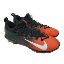 Nike Lunar Vapor Elite Baseball Cleats Orange Black 852686-108 Men's Siz... - $49.38