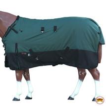 "75"" Hilason 1200D Ripstop Waterproof Turnout Winter Horse Blanket Green U-2-75 - $84.99"