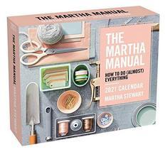 The Martha Manual 2021 Day-to-Day Calendar [Calendar] Martha Stewart Liv... - $8.37