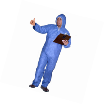 Enviroguard Flame Resistant PyroGuard FR Clothing Coverall with Attached... - $79.91